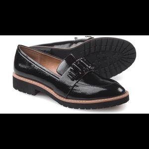 Franco Sarto black loafers